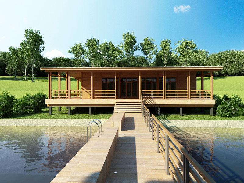 дом на воде фото
